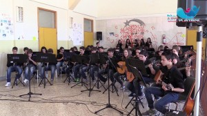 Campofranco-Concerto fine anno scuola media  (video)
