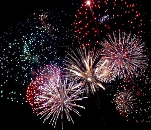 CAMPOFRANCO – San Calogero: i fuochi d'artificio. (video)