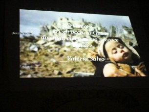 """COMITINI – La poetessa Valeria Salvo commuove con """"Inermi restasti sotto il cielo di Gaza"""""""