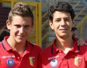 Gaspare Malta ed Alex Mattina (Campofranco)