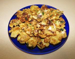 Frittelle di calamari e zucchine