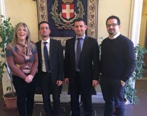 CAMPOFRANCO – Visita del sindaco ad Asti per il patto d'amicizia. E' la volta buona?