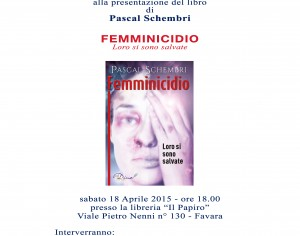 """FAVARA- Alla libreria """"Il Papiro"""" si discute di """"Femminicidio"""""""