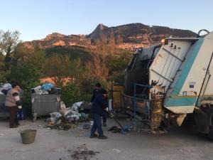 CASTRONOVO – Risolto il problema spazzatura