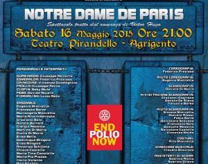 """MUSSOMELI – La We Love Show spicca il volo con """"Notre Dame de Paris"""""""