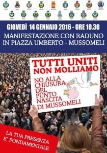 MUSSOMELI – Contro la chiusura del punto nascita, tutti i sindaci insieme giovedì