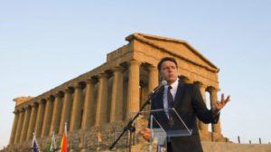 """SICILIA – Renzi ad Agrigento: """"5 miliardi in Sicilia"""". L'assessore Lo Bello: """"Apriremo 1000 cantieri."""""""