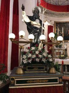 CAMPOFRANCO. La processione di San Calogero. Le immagini