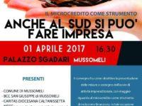 Mussomeli – A palazzo Sgadari si parla di microcredito