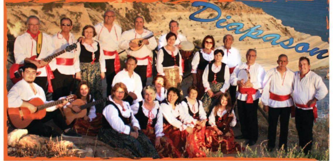 REALMONTE-Gruppo etnofolk Diapason in tournèe, tra tradizione e innovazione.