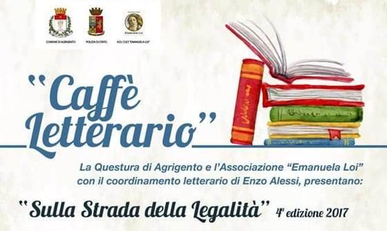 """AGRIGENTO – Caffè Letterario """"Sulla strada della Legalità"""" 2017, particolare serata tra poesia e musica."""