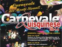 SANTO STEFANO QUISQUINA – Tutto pronto per il Carnevale