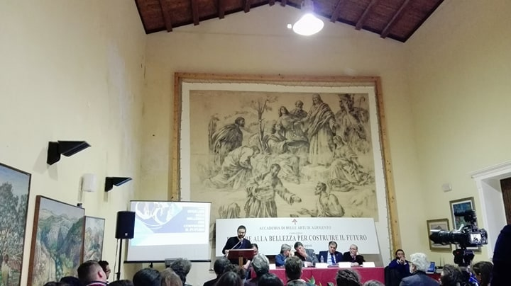 """AGRIGENTO-  Accademia di Belle Arti """"Michelangelo"""", Convegno """"Educare alla Bellezza per costruire il Futuro""""."""