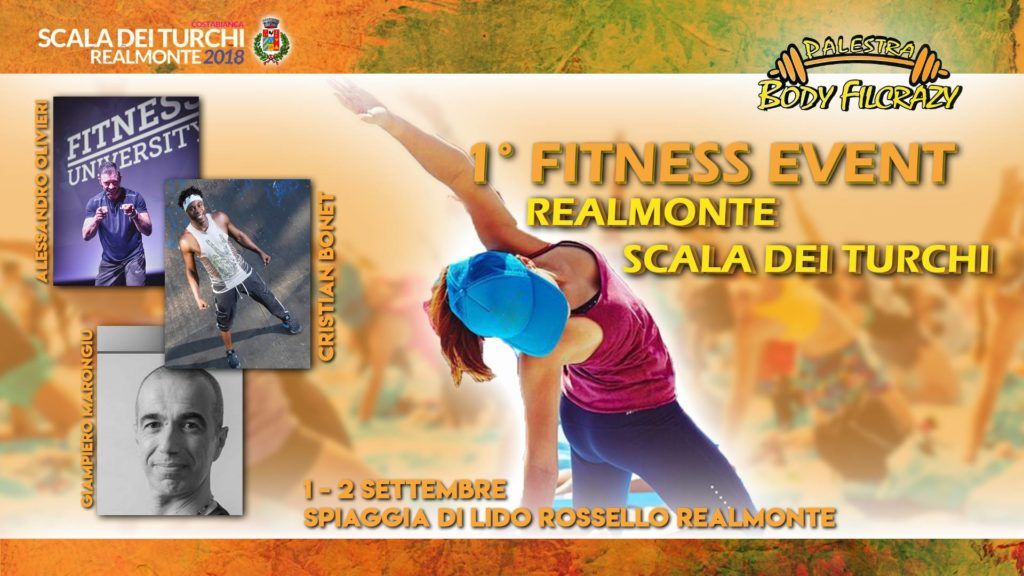 """REALMONTE-""""Primo Fitness Event"""", sport a cielo aperto in una location d' eccezione"""