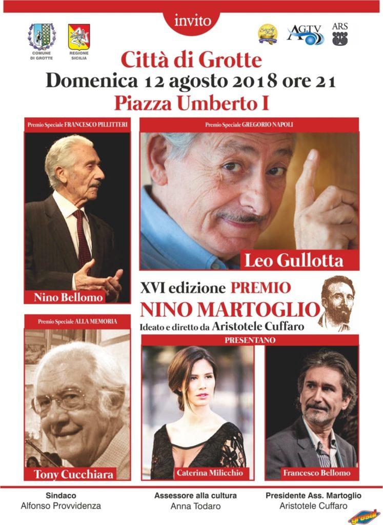 "GROTTE – Premio ""Nino Martoglio"" 2018"
