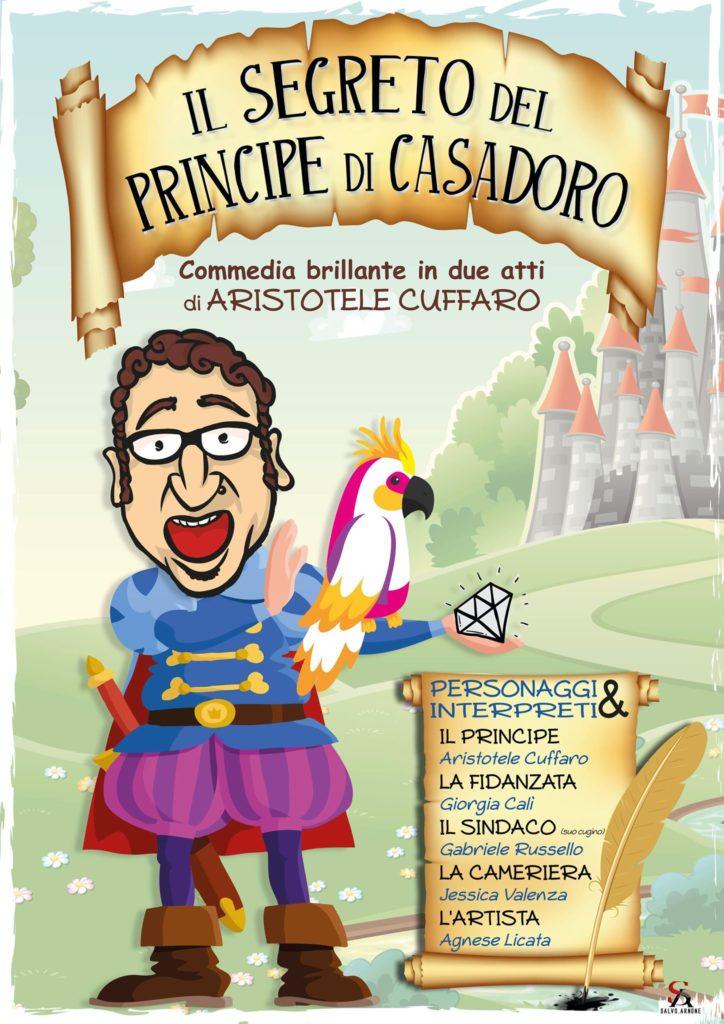 """PLATANI-La commedia """"Il segreto del Principe di Casadoro"""" di Aristotele Cuffaro ritorna in Belgio"""