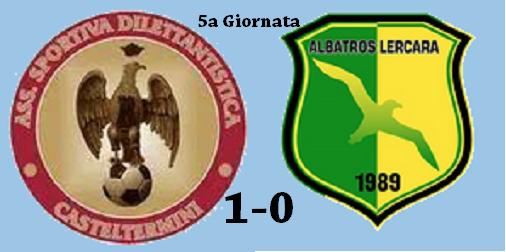 PROMOZIONE-ASD Casteltermini – Albatros Lercara 1-0 hightlights