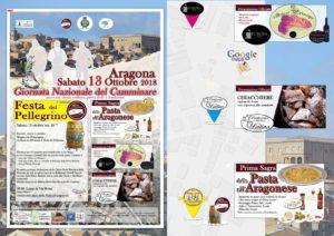 ARAGONA – Al via la Giornata del camminare e la Festa del pellegrino.