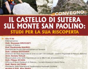 SUTERA –  Il castello sul monte San Paolino