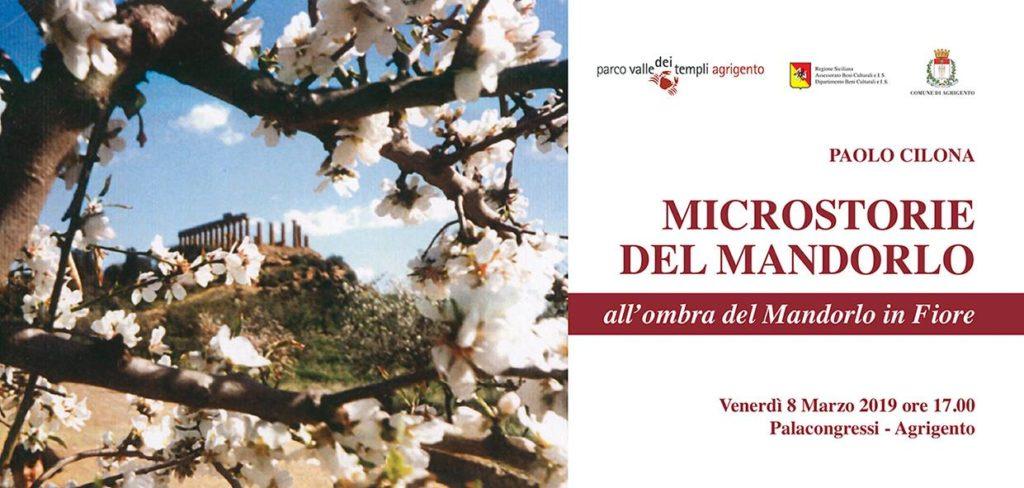 """AGRIGENTO-Presentazione del libro """"Microstorie del Mandorlo"""" di Paolo Cilona"""