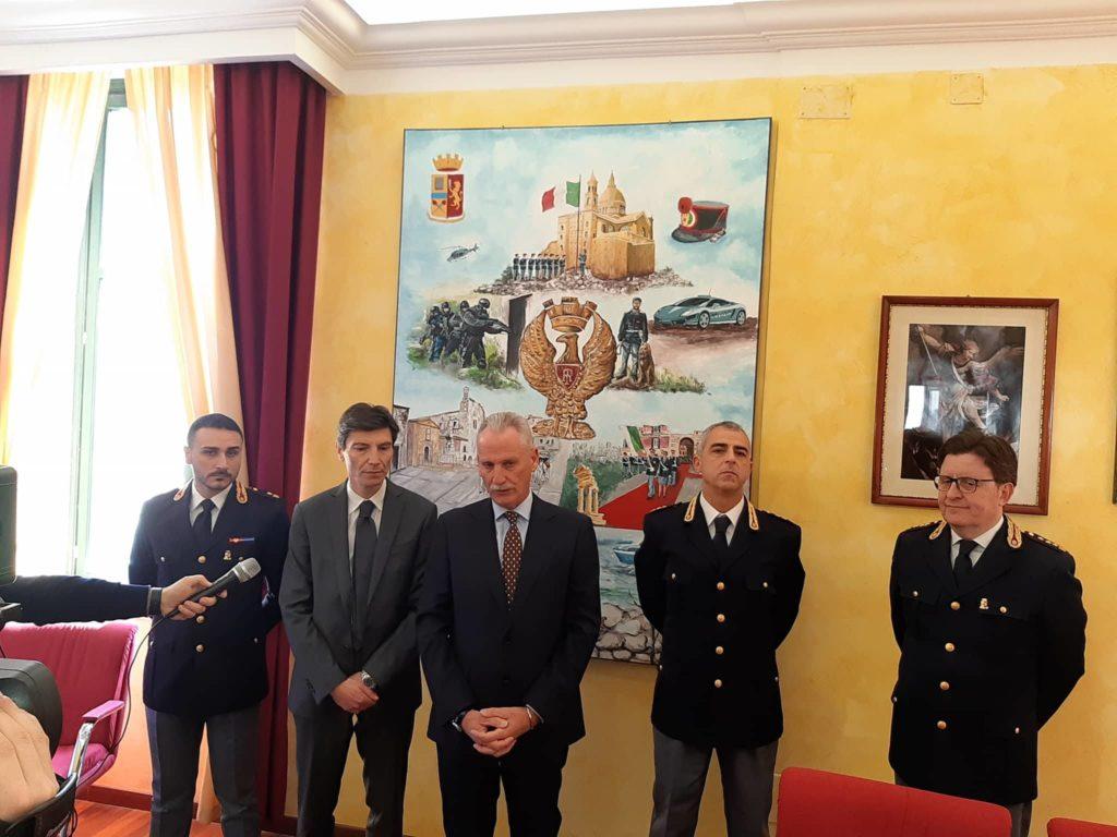 AGRIGENTO-I saluti di commiato del Questore Auriemma e il sentimento unanime nel cuore dei siciliani