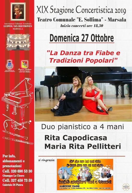 PLATANI-Imperdibili concerti delle agrigentine Rita Capodicasa e Mariarita Pellitteri
